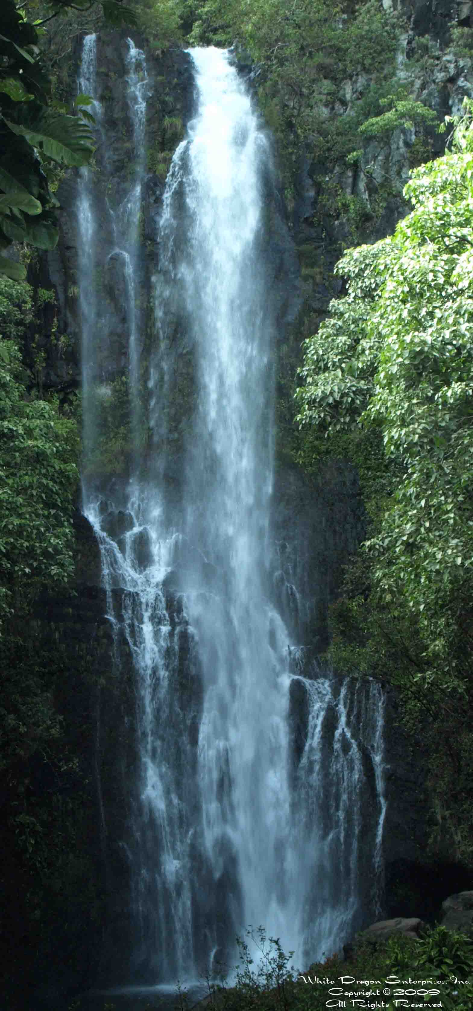 White Dragon Waterfall
